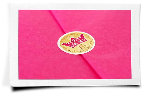 Valentinstags-Verpackung-Seidenpapier