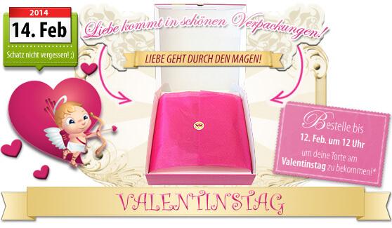 Valentinstags-Verpackung