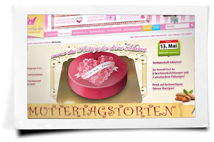 Muttertag-Torten für die beste Mama liefern lassen