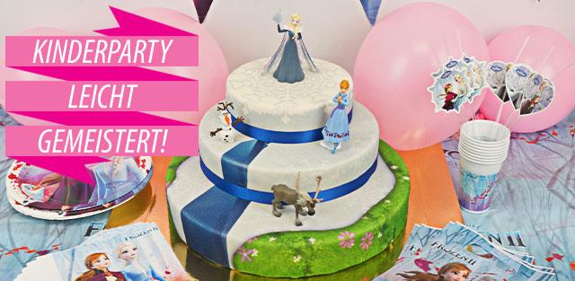 Elsa-Torte, Eiskönigin-Torte