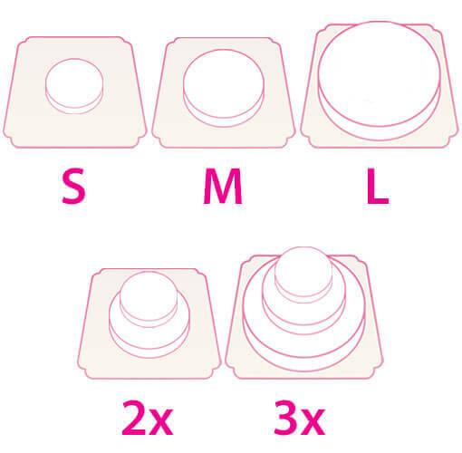 Torten-Größen & -Formen bei deineTorte.de