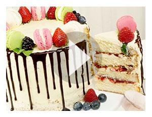 Aus Naked-Cake wird Drip Cake!