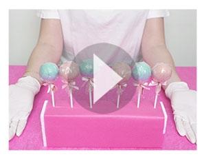 So stellst du einen Cake-Pop Stand aus der Verpackung her